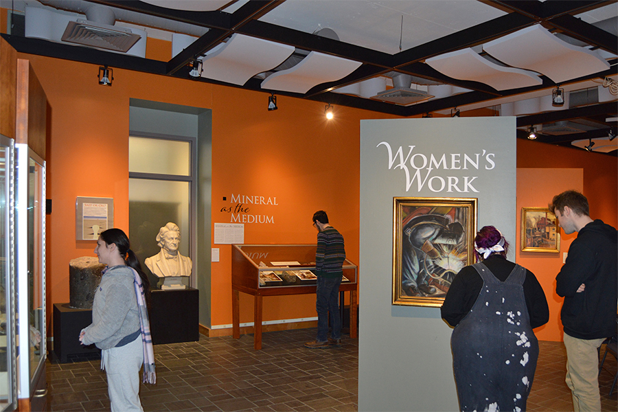 Women's Work exhibit