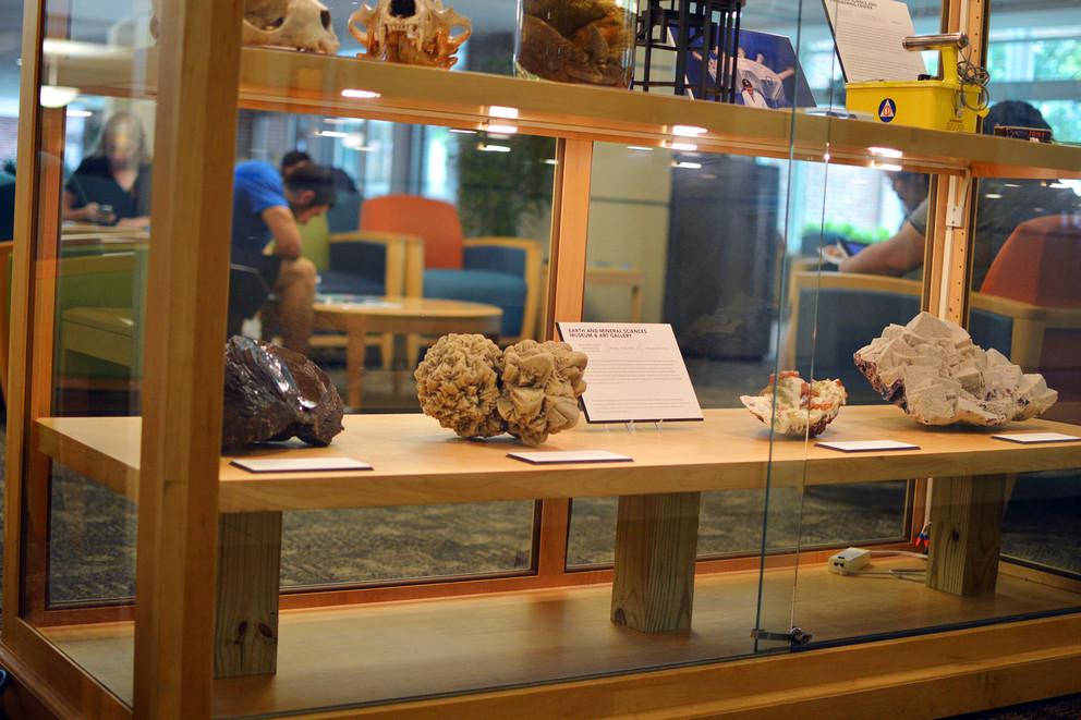 The Eclectic Collections exhibit